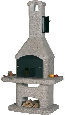 Сборный барбекю из бетона проекты бань с террасой и барбекю из пеноблоков
